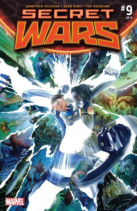 Secret Wars #0 – 9 + Extras (Ultimate Collection)