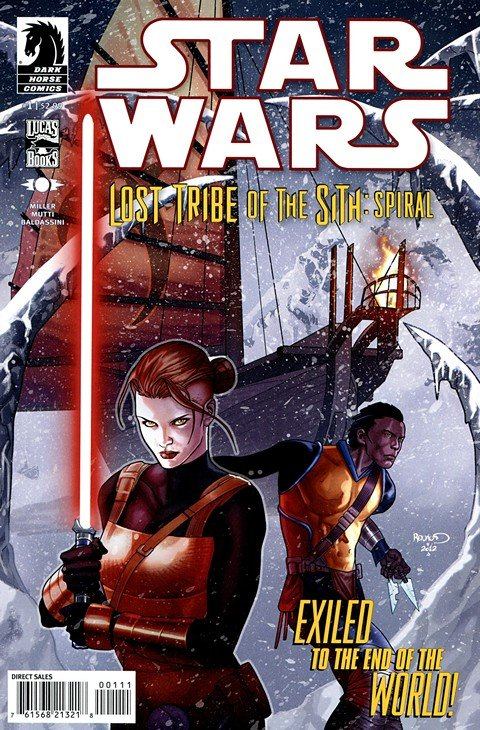 Star Wars – Lost Tribe of the Sith – Spiral #1 – 5