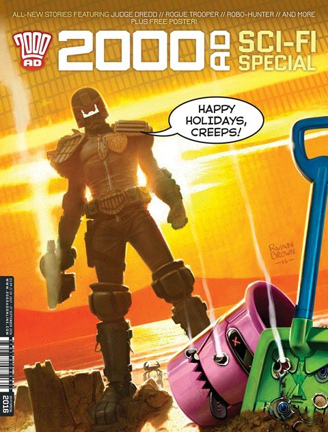2000AD Sci-Fi Special (2016)