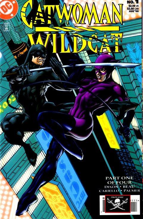 Catwoman – Wildcat #1 – 4