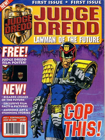 Judge Dredd – Lawman of the Future #1 – 23 + Action Special