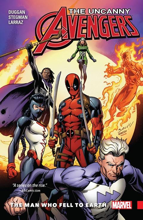 Uncanny Avengers Vol. 2 – Unity – The Man Who Fell To Earth (2016)