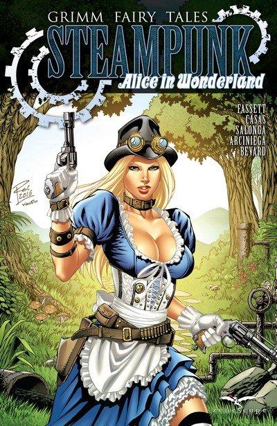 Grimm Fairy Tales Steampunk Alice In Wonderland (2017)