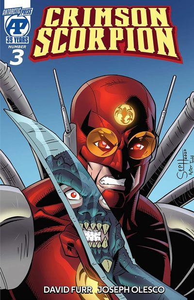 Crimson Scorpion #3 (2021)