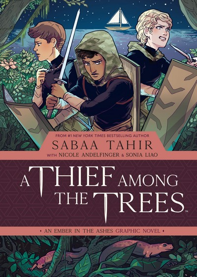 A Thief Among the Trees – An Ember in the Ashes (2020) (GN)