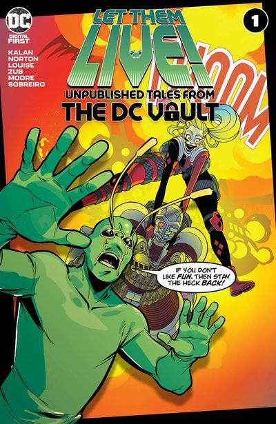 Let Them Live – Unpublished Tales From The DC Vault #1 (2021)