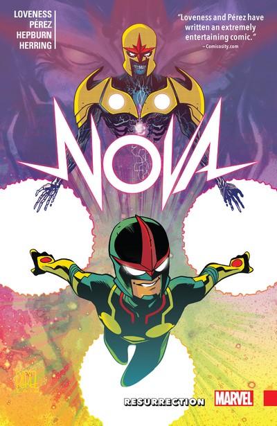 Nova – Resurrection (TPB) (2017)