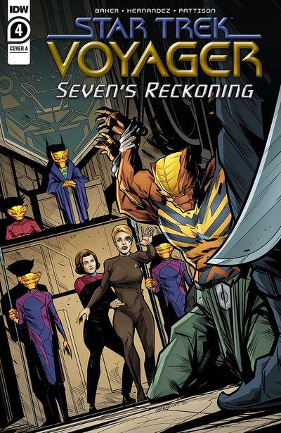 Star Trek – Voyager – Seven's Reckoning #4 (2021)