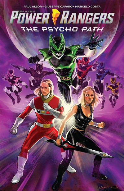 Power Rangers – The Psycho Path #1 (2019) (OGN)