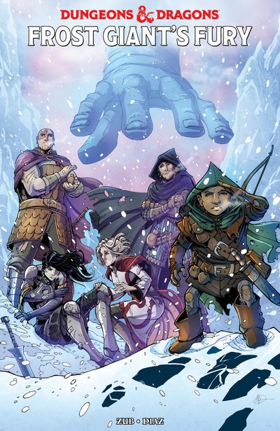 Dungeons and Dragons – Frost Giant's Fury (TPB) (2017)
