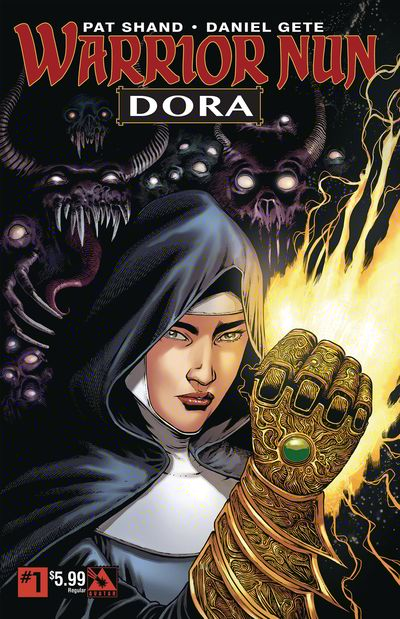 Warrior Nun – Dora #1 (2019)
