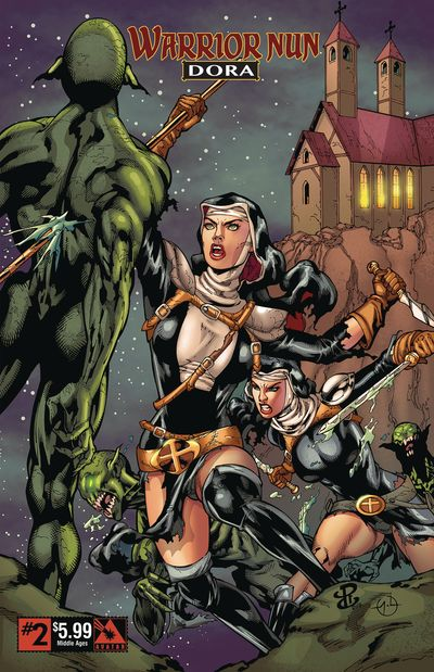 Warrior Nun – Dora #2 (2019)