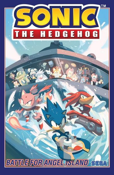 Sonic the Hedgehog Vol. 3 – Battle for Angel Island (TPB) (2019)