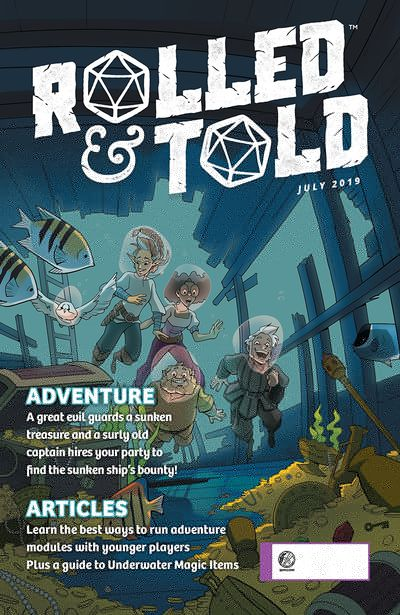 Rolled And Told #11 (2019)