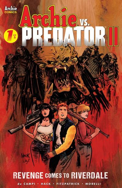 Archie Vs Predator Vol. 2 #1 – 5 (2019-2020)