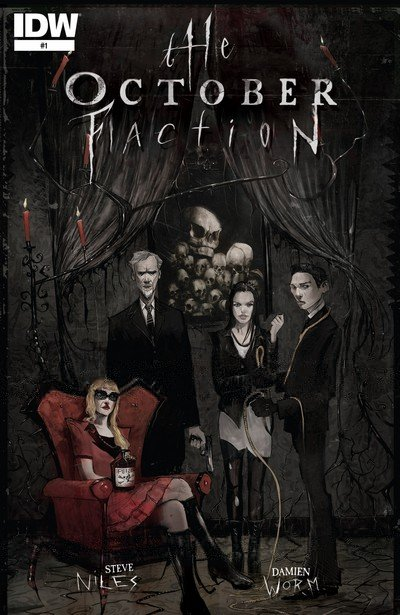 The October Faction #1 – 18 + TPB Vol. 1 – 5 (2014-2018)