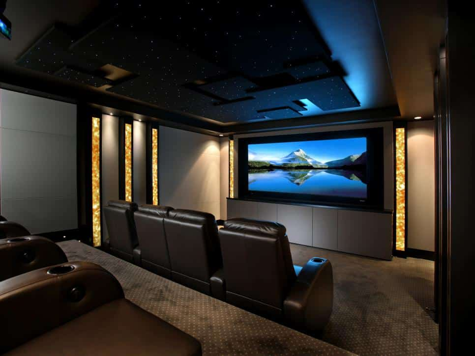 Awesome Home Theater Room