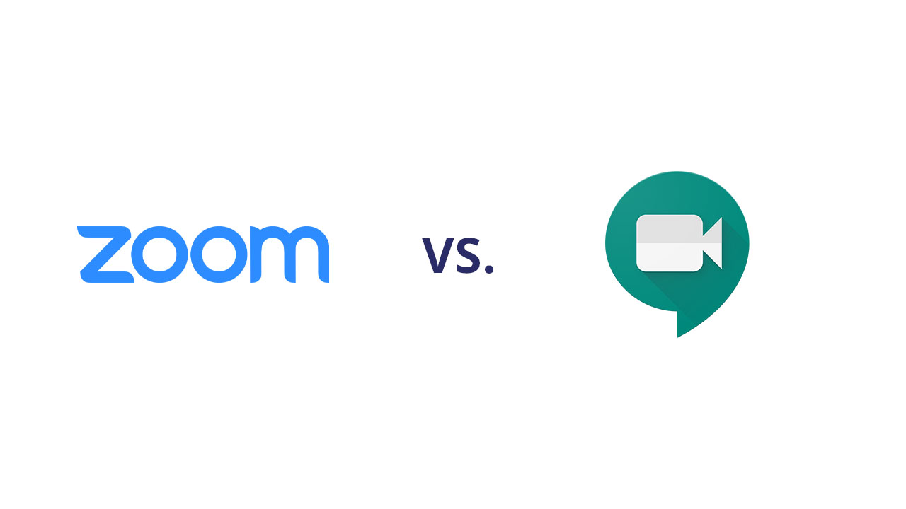Zoom vs Meet