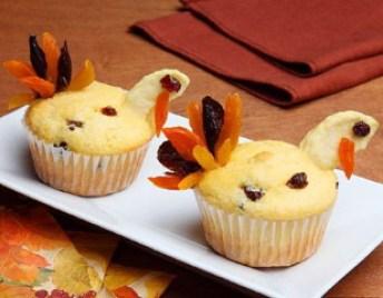 Corn Muffin Turkeys
