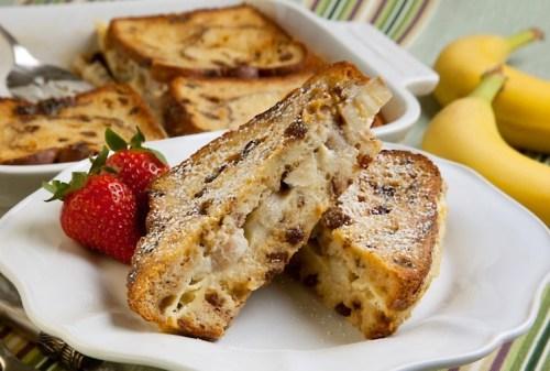 Banana Raisin French Toast