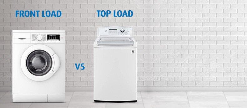 Top Load Vs Front Load Washer
