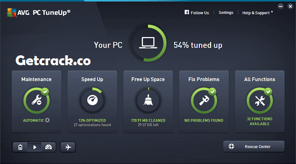 AVG PC TuneUp 2021 Crack + Product Key Full [Latest]