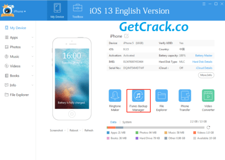 iTools v4.5.0.6 Crack With Full Torrent Free Version [Latest]