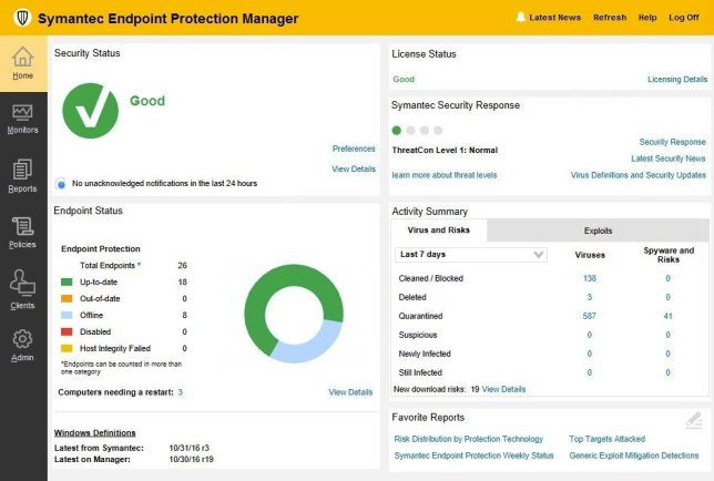 Symantec Endpoint Protection 14.3.5413.3000 Crack Free Download