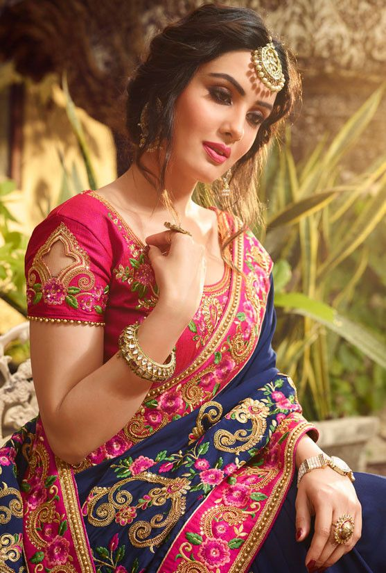 Judul What Are The Blouse Designs For A Silk Saree Quora New