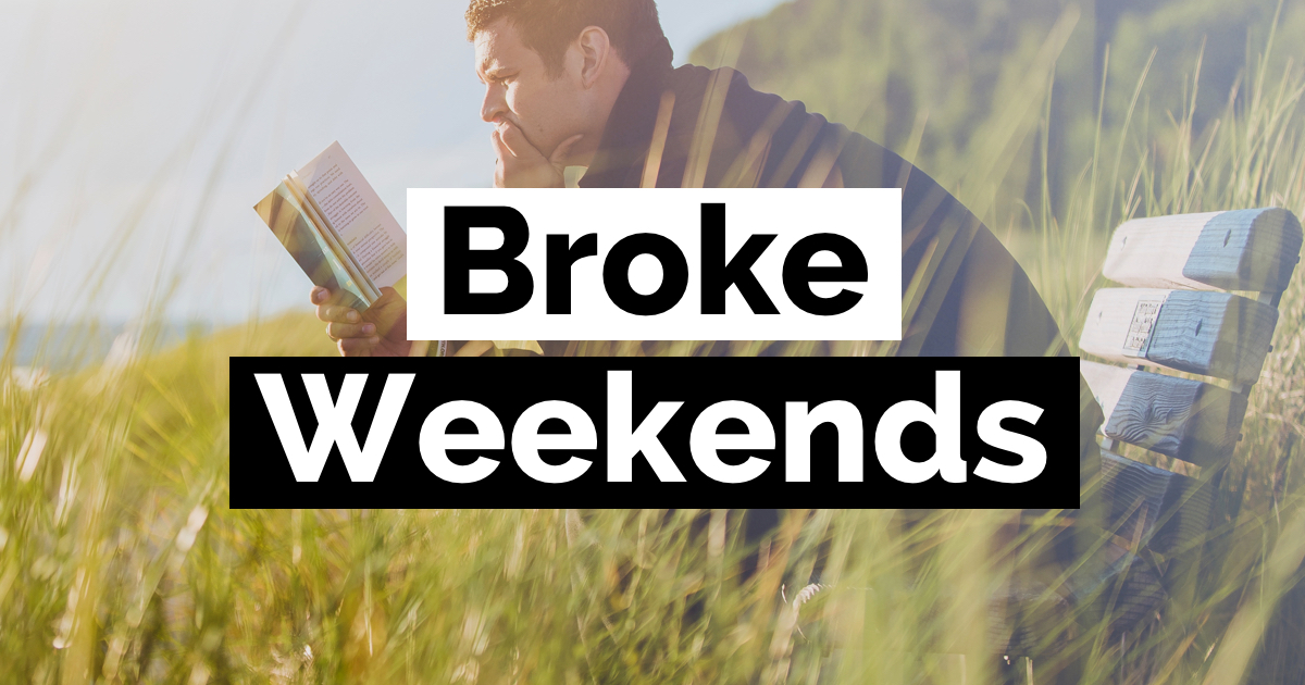 How to survive the weekend when you're broke