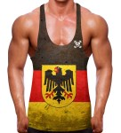 German Flag Stringer Vest