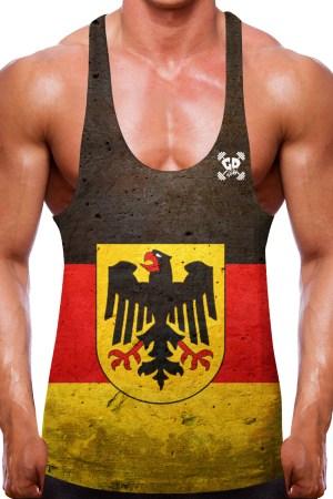 German Flag Stringer Vest