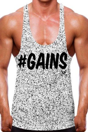 Speckled Gains Stringer Vest