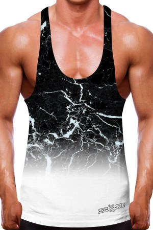 Do or Die Mineral Fade Stringer Vest