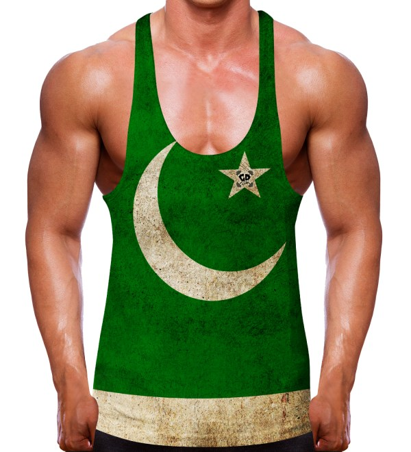 Pakistan Flag Stringer Vest