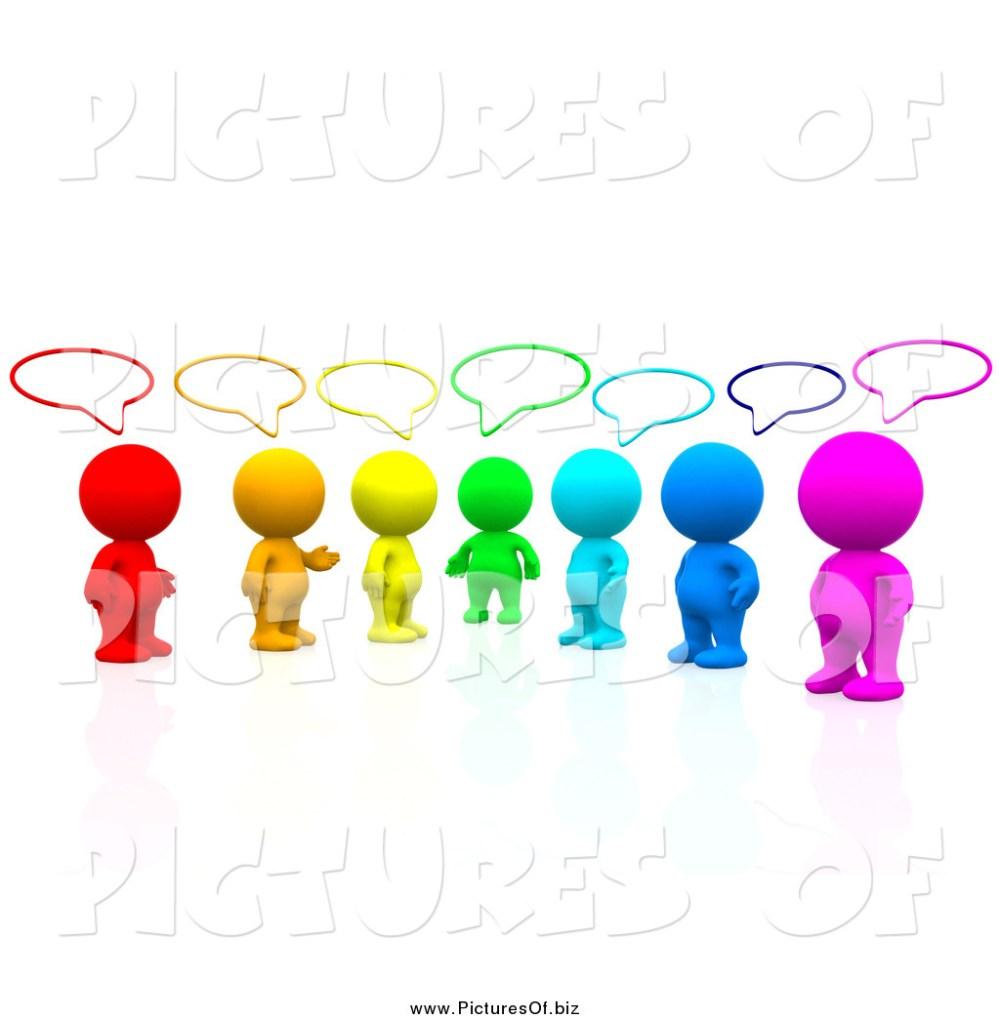 medium resolution of 1024x1044 fantastic people talking clip art clipart of a 3d colorful