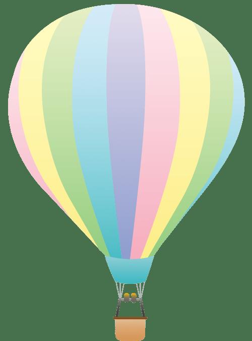 small resolution of 4114x5559 hot air balloon clip art striped pastel colored hot air balloon