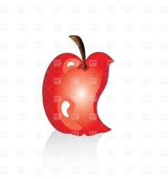 558x597 green apple clipart 1200x1200 missing bite [ 1200 x 1200 Pixel ]