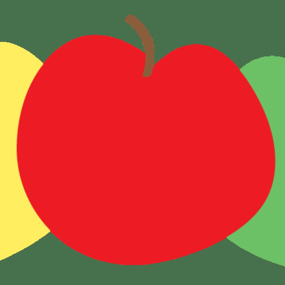medium resolution of 1024x1024 apple clip art free birthday clipart