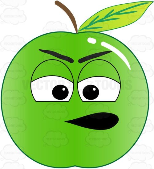 small resolution of 933x1024 clipart apple with face yanhe clip art