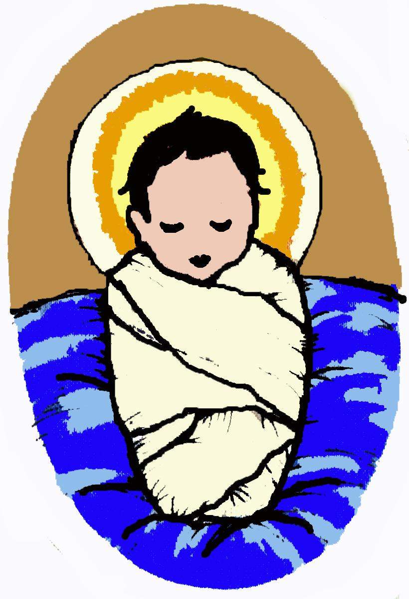 medium resolution of 820x1199 baby jesus images free