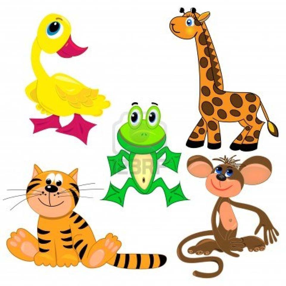 medium resolution of 961x960 sensational ideas zoo animal clipart animals circle lables safari