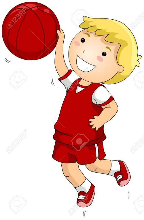 small resolution of 852x1300 kid basketball player clipart
