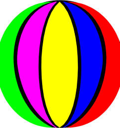 958x958 beach ball clipart clipartix [ 958 x 958 Pixel ]