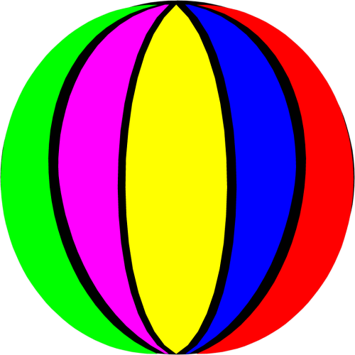small resolution of 958x958 beach ball clipart clipartix