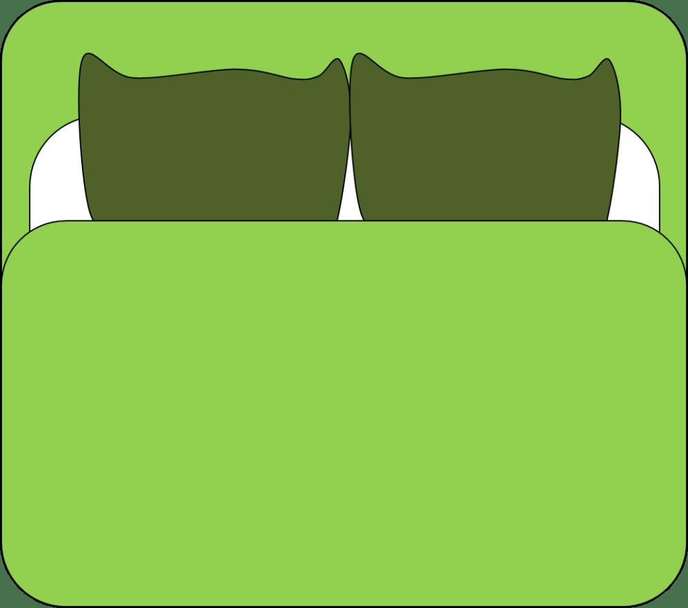 medium resolution of 1041x920 dubbal bed cartoon clipart