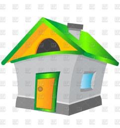 1200x1200 cartoon house royalty free vector clip art image [ 1200 x 1200 Pixel ]