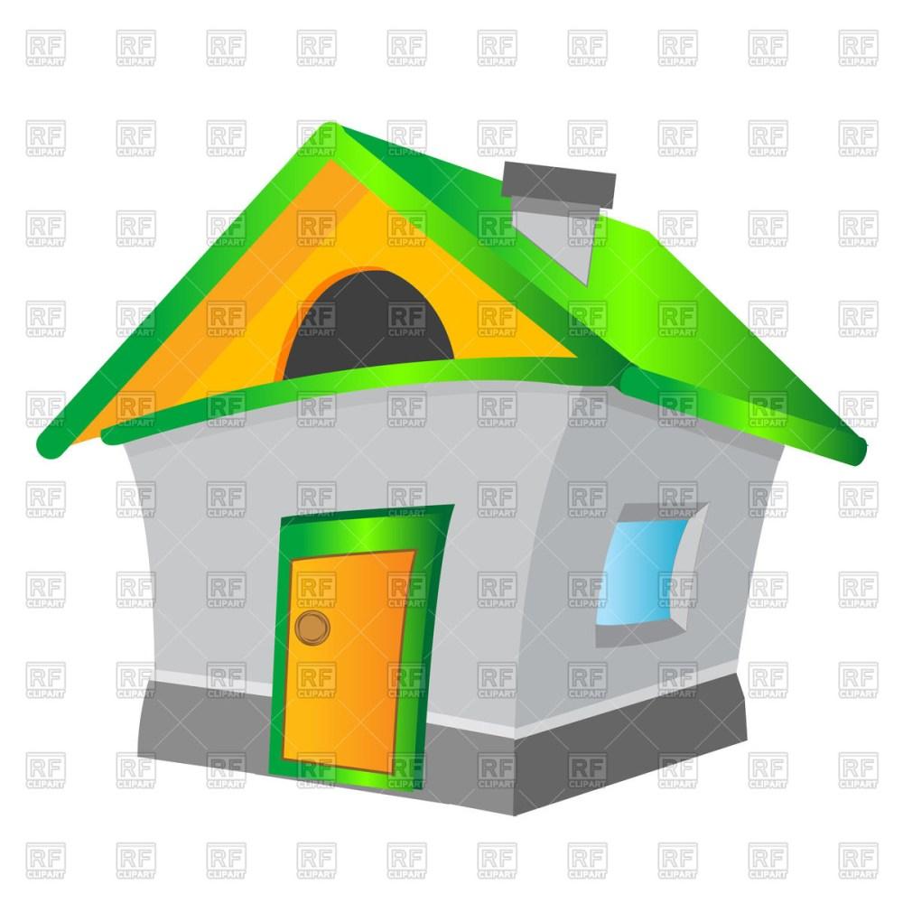 medium resolution of 1200x1200 cartoon house royalty free vector clip art image