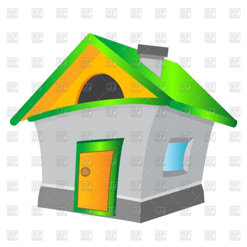 small resolution of 1200x1200 cartoon house royalty free vector clip art image