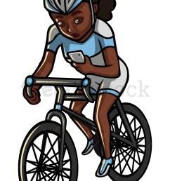 800x1200 black woman texting while riding a bike vector cartoon clipart [ 800 x 1200 Pixel ]